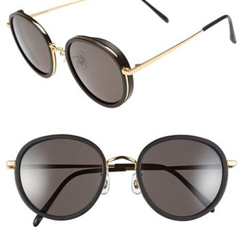 Women's Gentle Monster 53mm Round Retro Sunglasses