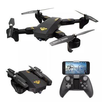 VISUO-XS809W-Drone-Wifi-FPV-0-3MP-Camera-2-4G-6-Axis-RC-Quadcopter