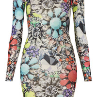 **JEWEL MINI DRESS BY JADED LONDON