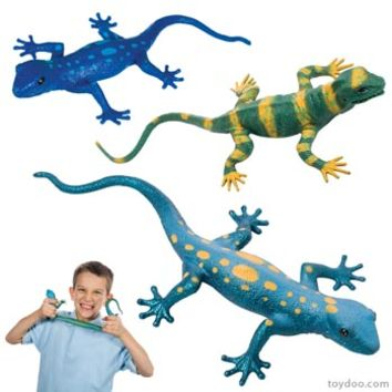 Lizard Squishimals - Toysmith - Pack of 18 ea