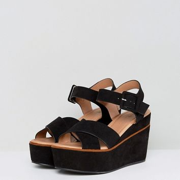 ASOS TORY Wedge Sandals at asos.com