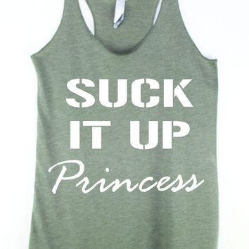 Suck It Up Princess Tank Top