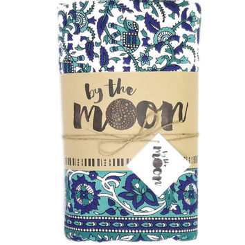 By The Moon - Aquarius Mandala Throw - Queen