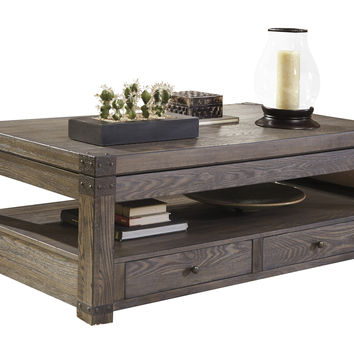 Signature Design by Ashley Burladen Coffee Table with Lift Top