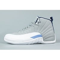 Best Deal AIR JORDAN 12 RETRO 'WOLF GREY'