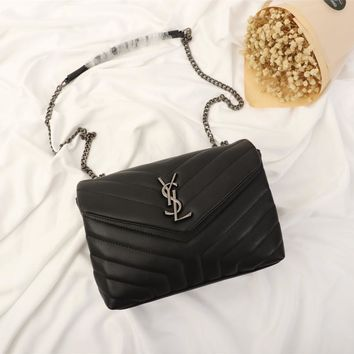 YSL Yves Saint Laurent Women BLACK wallet purse Evening Cross body Bag, Designer Shoulder Bag for Women, Fashion Bee Crossbody Bag Handbags with Chain