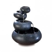Gifts & Decor 4-Tier Tabletop Water Fountain Decorative Sculpture:Amazon:Home & Kitchen