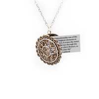 Elements Sterling Silver Bronze Statement Locket