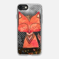 Fox iPhone 7 Capa by Li Zamperini Art | Casetify