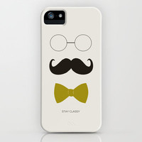 STAY CLASSY 2 iPhone Case by Allyson Johnson