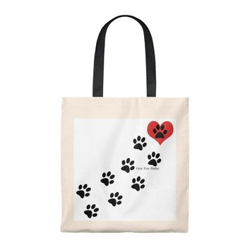 Our Fur Baby Vintage Tote