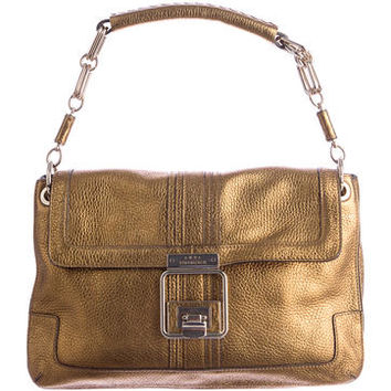 Anya Hindmarch Metallic Handle Bag