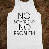 Supermarket: No Boyfriend No Problem from Glamfoxx Shirts