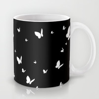 Butterfly Pattern Mug by markmurphycreative