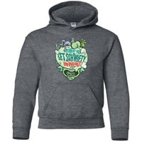 Rick & morty Time To Get Schwifty In Here-01 G185B Gildan Youth Pullover Hoodie