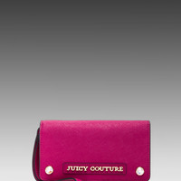 Juicy Couture Sophia Collection Tech Wristlet in Cashmere Rose