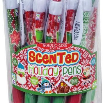 Scented Holiday Pen - CASE OF 24