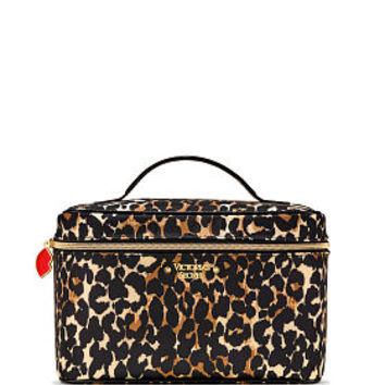 Exotic Leopard Weekender Train Case - Victoria's Secret