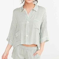 Out From Under Patsy Herringbone PJ Top
