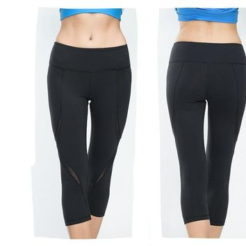 High Waist Stretch Workout Leggings
