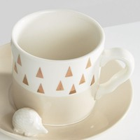 House of Disaster Hedgehog Cup and Saucer at asos.com