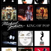 Michael Jackson: Album Covers Art Print