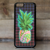 Electric Grid Tie Dye Pineapple Case for Apple iPhone 6