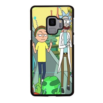 RICK AND MORTY CARTOON Samsung Galaxy S3 S4 S5 S6 S7 S8 S9 Edge Plus Note 3 4 5 8 Case