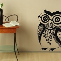 Wall Decals Vintage Owl Decal Vinyl Sticker Home Decor Bedroom Interior Window Decals Living Room Art Murals Chu1398