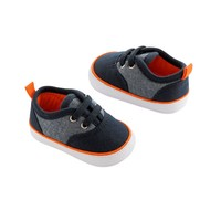 OshKosh B'gosh Retro Chambray Crib Shoes - Baby Boy