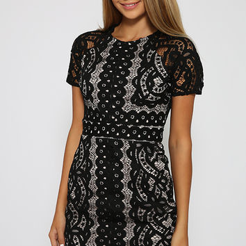 Tijana Dress - Black