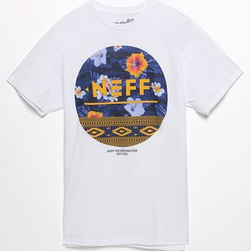 Neff Floral Empire T-Shirt - Mens Tee - White