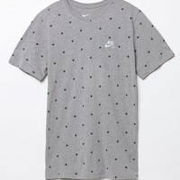 Nike SB AOP Plus Signs T-Shirt - Mens Tee - Gray