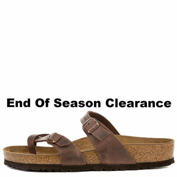 Birkenstock For Women: Mayari Habana Oiled Leather Sandal - Beauty Ticks