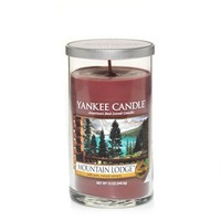 Mountain Lodge™ : Medium Perfect Pillar Candles : Yankee Candle