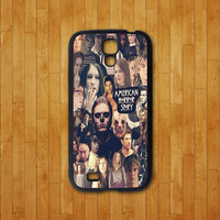Samsung galaxy note 2 case,American Horror Story,collage evan peters,samsung galaxy S4 mini case,samsung galaxy s4 active,galaxy S4 case