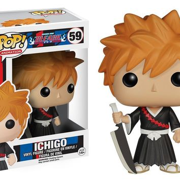 "Funko Pop Bleach Ichigo Anime 3.75"" Vinyl Figure"