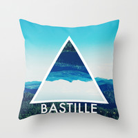 BASTILLE Throw Pillow by Hands In The Sky