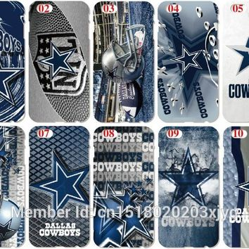 Dallas Cowboys Shell Cover For iphone 10 X 4 4S 5 5S SE 5C 6 6S 7 8 Plus For iPod Touch 5 6 Phone Case Coque Fundas Bumper