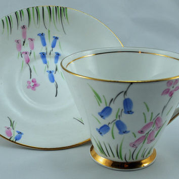 Cup and Saucer, Collectible Set, Phoenix Fine Bone China, Made in England (5)