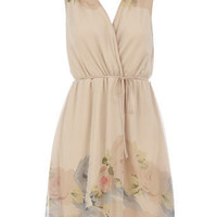 Petite cream Grecian dress - View All Petite Clothing - Petite - Dorothy Perkins United States