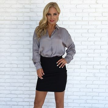 Bounder Skirt in Black