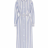 Folgore striped cotton dress