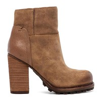 Sam Edelman Franklin Bootie in Cognac