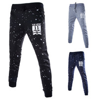 U.K Men's Style Casual Sweat Jogger Pants