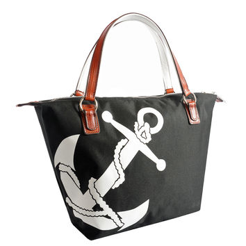 Julie Tote with Anchor Design