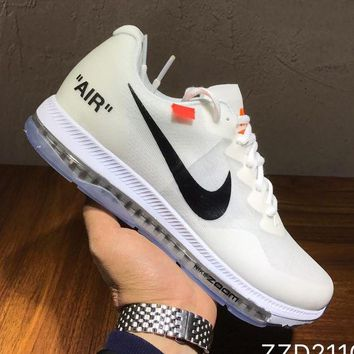 Gotopfashion NIKE x Off-white Woman Men Fashion Sneakers Sport Shoes