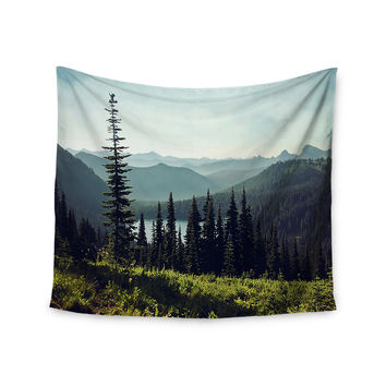 "Sylvia Cook ""Discover Your Northwest"" Landscape Wall Tapestry"