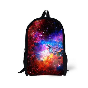 Boys bookbag trendy Customized School Bags for Teenager Boys Galaxy Printing Students s High Quality School Backpack Bolsas Mochila Unisex AT_51_3