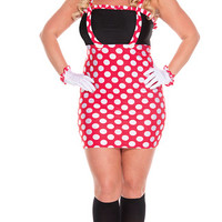 Plus Size Darling Mouse Costume